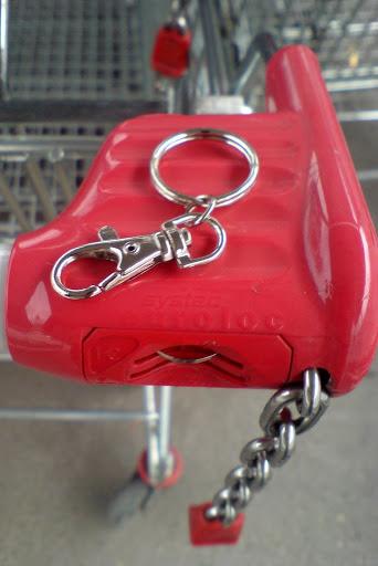 žeton za voziček