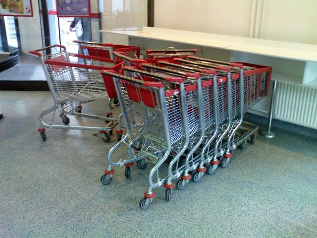 nakupovalni vozički