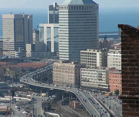 Avtocesta skozi Genovo