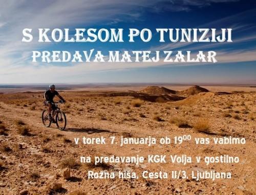 S kolesom po Tuniziji