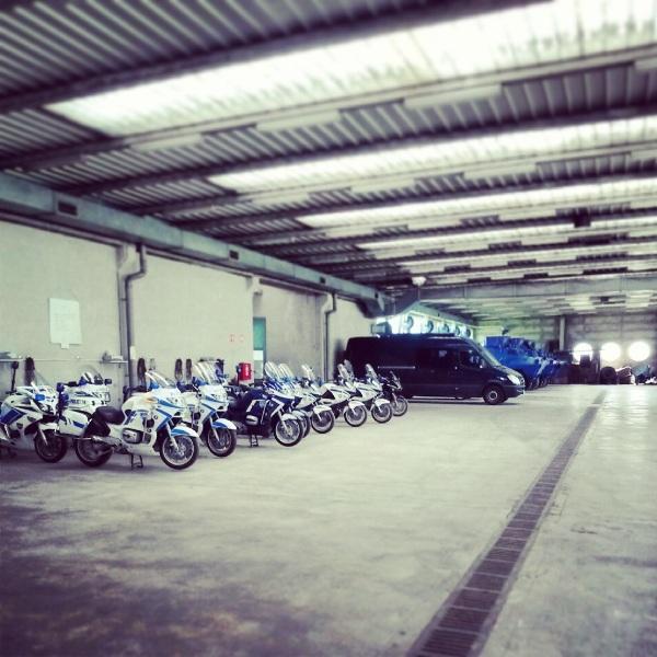 policijska garaža