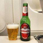Pije karlovacko lager croatiaairlines