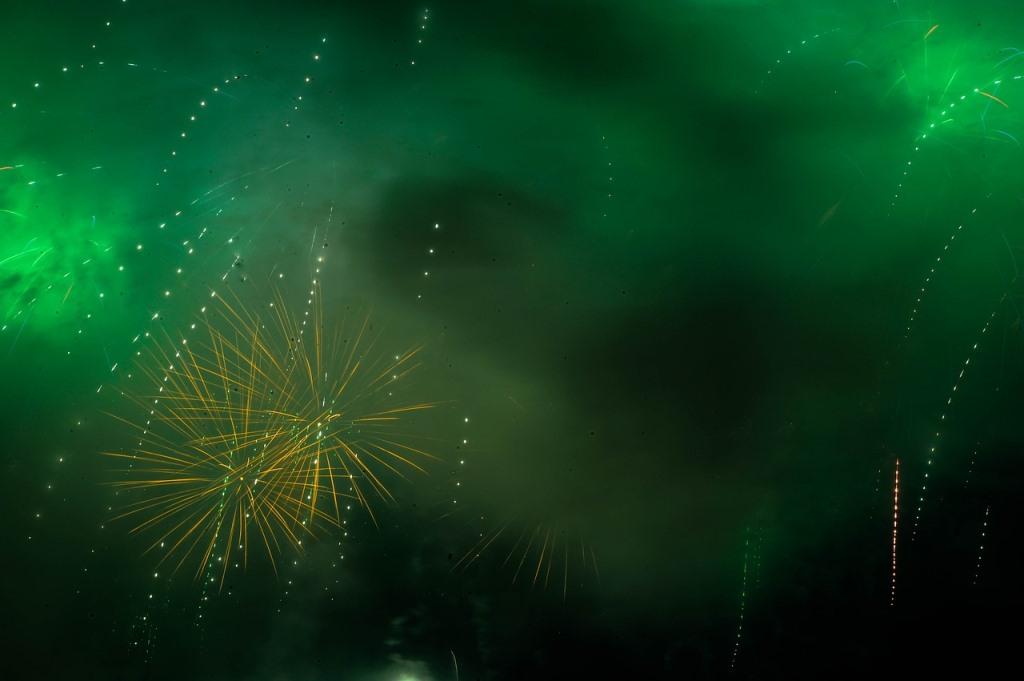 Novoletni ognjemet v Ljubljani