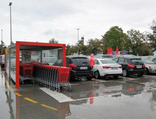 Parkirišče za vozičke