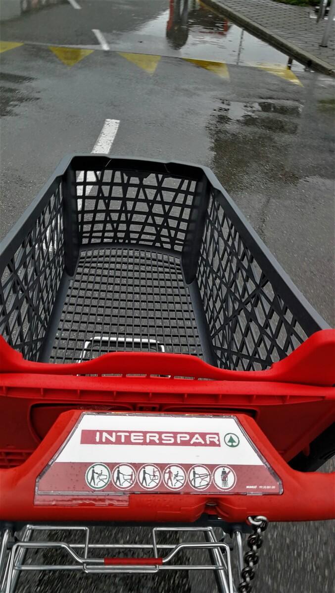 Nakupovalni voziček Interspar
