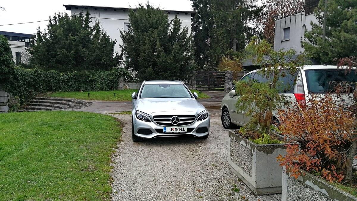 Parkiranje na potki