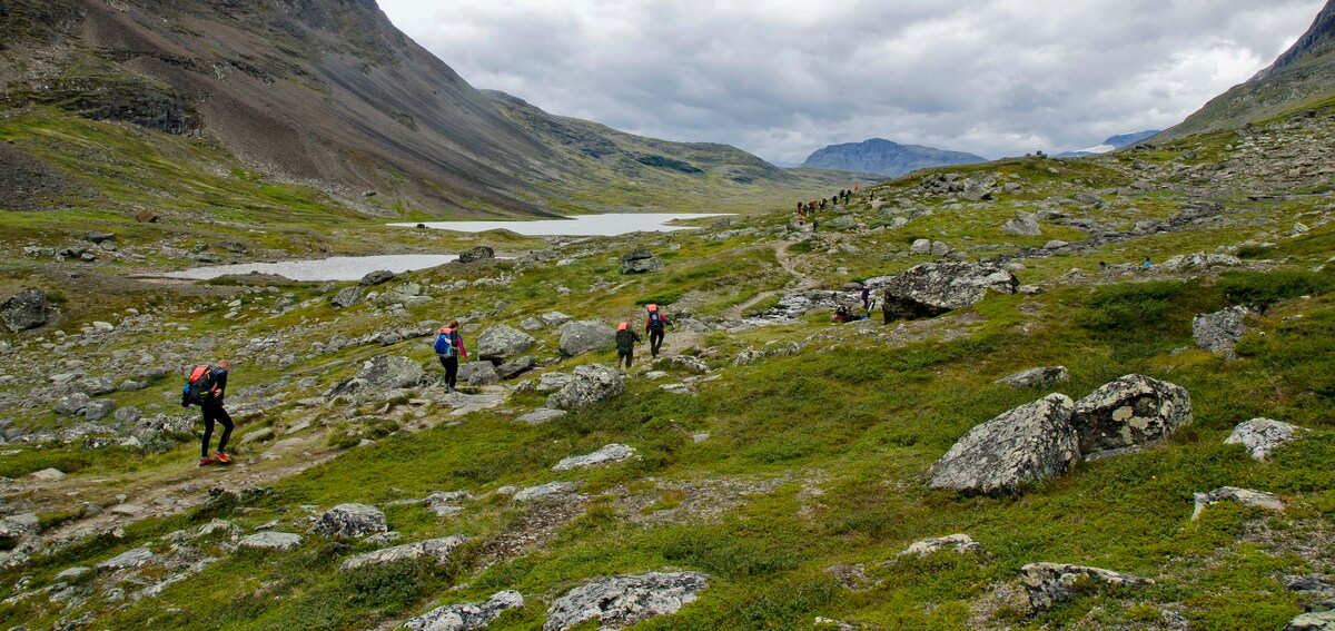 Fjällräven Classic, jezero