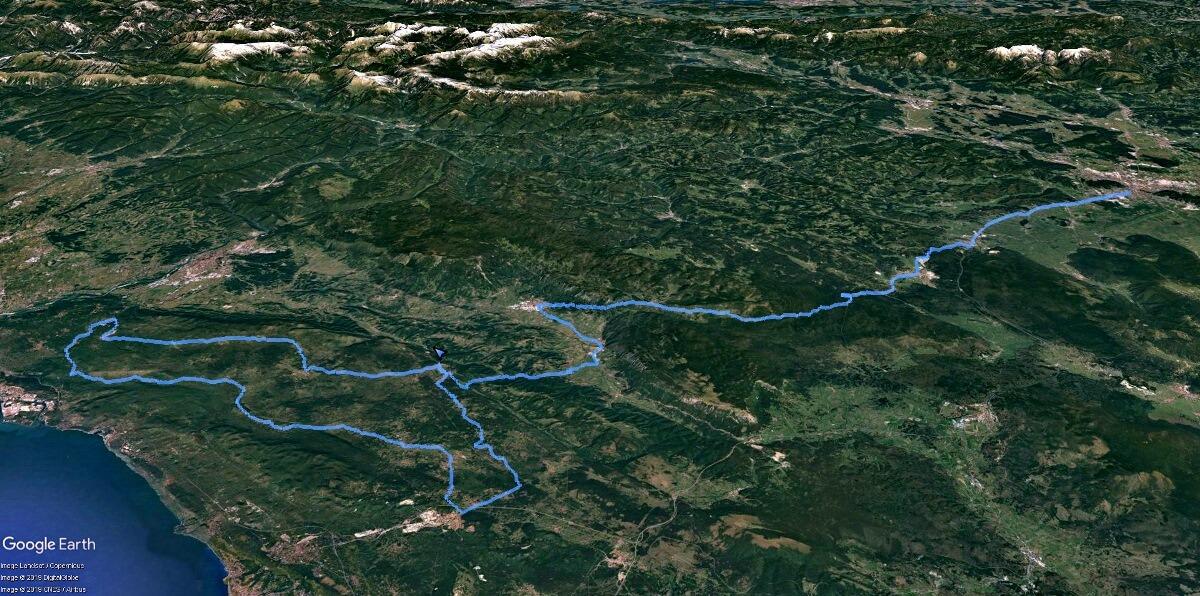Kras-zemljevid