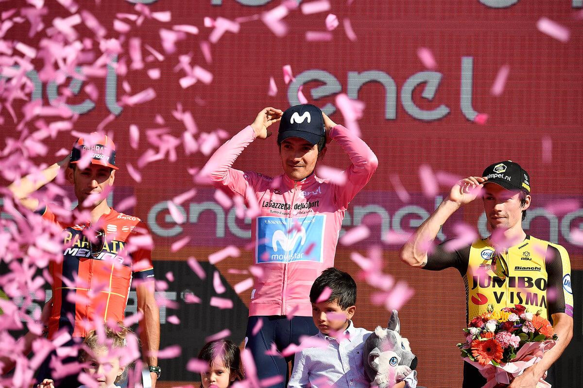 Giro 2019 podium
