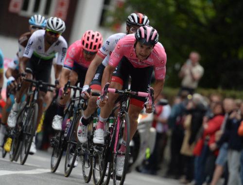 Jan Polanc, rožnata majica